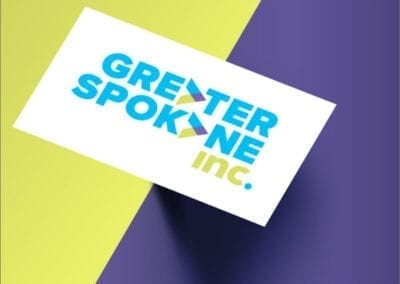 Greater Spokane Incorporated business card