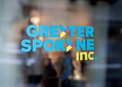 Greater Spokane Incorporated environmental window sticker