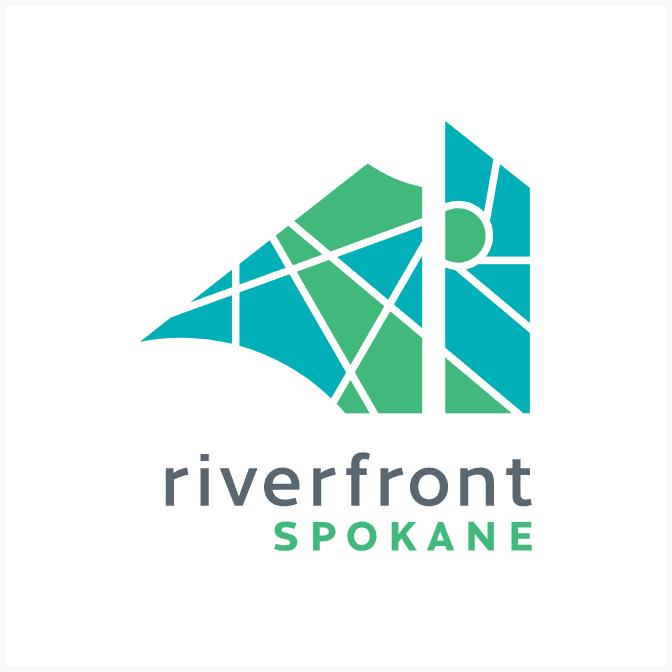 Riverfront Spokane primary brand logo