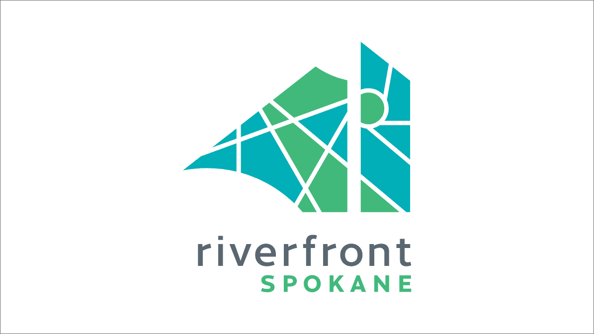 Riverfront Spokane new brand logo after