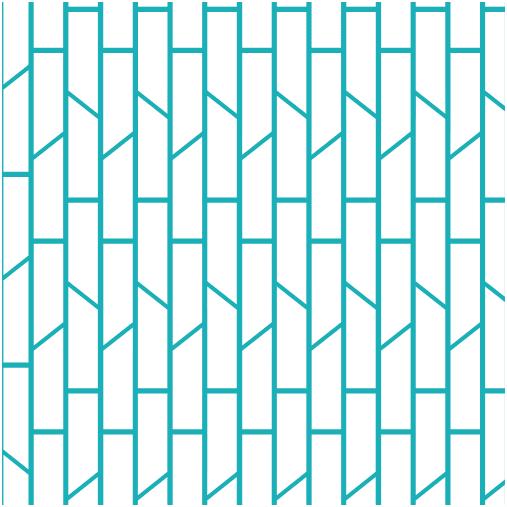 Riverfront Spokane blue and white environmental pattern